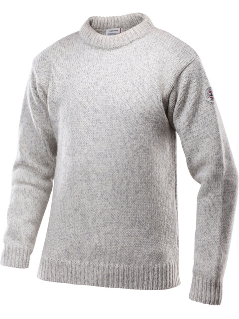 """Devold Nansen Sweater Crew Neck Unisex Grey Melange"""